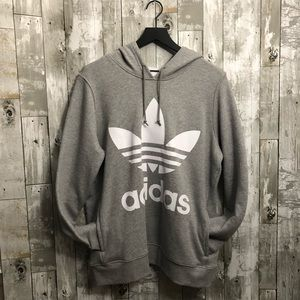 Adidas Oversized Trifoil Hoodie (L)